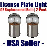 License Plate Bulb 2pk Oe Replacement Fits - Listed Cadillac Vehicles - 97