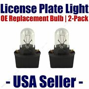 License Plate Bulb 2pk Oe Replacement Fits - Listed Cadillac Vehicles - Pc168