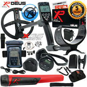 Xp Deus Detector W/ Mi-6 Pinpointer Ws4 Backphone Remote X35 Coil And More
