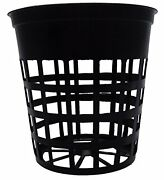 100 Pack - 3 Inch Net Slit Pots For Hydroponic - Aeroponic - Orchid