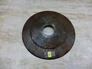 1960and039s Bmw R50 Airhead R60 R69s S736. Wheel Hub Center Disc Cover 2