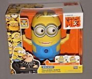Despicable Me 3 Me3 Minion Deluxe Talking Dave Figure W Free Moving Eyes And Arms