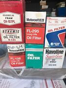 800 Car And Truck Oil Filters Assorted Styles And Sizes.thats 2.50 Ea.great Deal