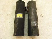 1960and039s Amf Harley Sx125 S498 Fork Covers Trims