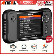 4 System Car Code Reader Abs Srs Check Engine Light Diagnostic Auto Scanner Tool