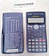 Casio Fx-570ms 2-line Display Scientific Calculator Sold As-is Free Shipping