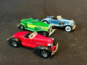 Old Vtg Diecast Hot Wheels Toy Car Lot Rolls-royce And03931 Doozie Convertible