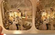 Tinted Tissue Stereoview Photo Superb Country Storm Scenery Orage Stereo Ca 1860