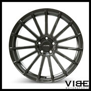 22 Ace Devotion Mica Grey Concave Wheels Rims Fits Cadillac Cts V Coupe