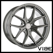 19 Avant Garde M580 Grey Concave Staggered Wheels Rims Fits Acura Tsx