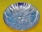 S Kirk And Son 431 Sterling Silver Repousse Tri Footed Berry Candy Bowl Dish 159g
