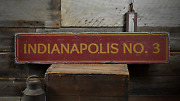 Fireman City Number, Custom Station - Rustic Distressed Wood Sign