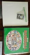 Assorted Topps Collectible Baseball Cardsboth Books