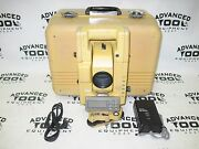 Topcon Gts-304 Total Station Transit W/ Case New Charger And Battery Survey Level