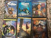 Disney Movies 1 Blue Ray And 5 Dvd's Which Are Brand New From Disney.
