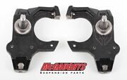 Mcgaughys 5864 Chevy Belair Impala Drop Spindles W/ Power Disc Conversion 4 Whee