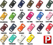 Paracord Planet Brand Contoured Side Release Buckle – 3/8 Inch