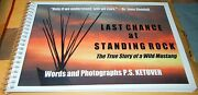 1st Ed Standing Rock Wild Horse Rescue Signed Sioux Indians Children Book Gift