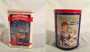 1993 Cracker Jack 100th Anniversary Pass Around Your Commemorative Canister Tin