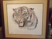 Bengal Tiger By Jill Fogelson, Signed Limited Edition