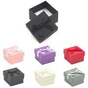 Luxury Card Jewellery Ring Earring Gift Box Gift Boxes 50x50x30mm Rotp02