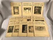 14 Vintage American Collector Magazines 1940 1941 1942 Antiques Collectible