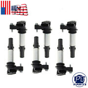 6 Pcs Ignition Coil For Gm Uf375 Cadillac Buick Acadia 12629037