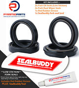 Fork Seals Dust Seals And Tool For Kawasaki Zl600 A 86-87 Eliminator