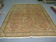 Semi Antique Turkish Sivas Carpet Area Rug Wool Hand Knotted 6and039-7 X 9and039-10