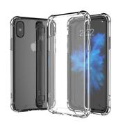 For Apple Iphone X/8 Plus Case Silicone Clear Cover Bumper Rubber Protective Lot