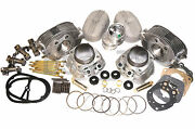 Complete Set Cylinders Heads Pistons Rings Rockers Studs Gaskets Ural 650cc New