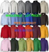 Gildan 18500 Wholesale Lot Price White Or Colors Mixandmatch Hoodie New On Sale