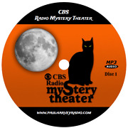 Cbs Radio Mystery Theater 1,399 Shows Old Time Radio Mp3 28 Cd's