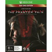 Metal Gear Solid V The Phantom Pain Xbox One Console New Disc Au Day 1 Edition