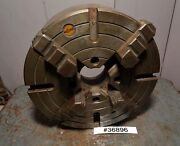 Rohm 12 4 Jaw Independent Chuck 36896