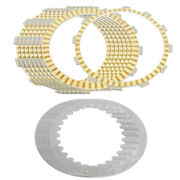 Clutch Friction Steel Plates For Honda St1300 St1300a St1300p St1300pa 2003-17