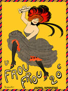 Quality Poster.french Frou Dance.cappiello.home Wall Decor Club Art Print.q690
