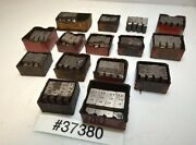 One Large Lot Of Geometric Die Head Chasers Inv.37380