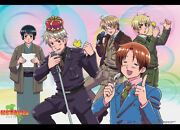 Hetalia Axis Powers Wall Scroll Poster Anime Cloth Licensed Mint