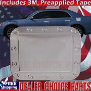 For 2005-2009 2010 Chrysler 300 300c Stainless Steel Gas Door Cover Fuel Overlay