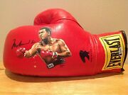 Ssg Muhammad Ali Signed Everlast Boxing Glove With Bas/becket Full Letter Coa