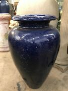 Large 1920s Pacific Pottery Oil Jar California
