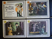 Complete 8 Lobby Card Set -1923 Tod Browning And039s Day Of Faith - Silent Sexy