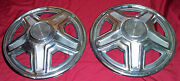 Old Mustang Hub Caps 1965 66 67 68 69 Hubcaps Vintage Ford Car Auto 14andrdquo Wheel 2