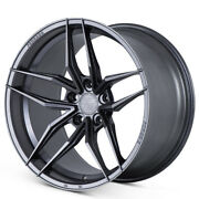 20 Ferrada F8-fr5 Graphite Forged Concave Wheels Rims Fits Ford Mustang Gt