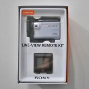 Sony Fdr-x3000 And Live View Remote Kit Action Cam Camcorder Camera Genuine