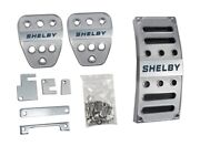 2015-2021 Ford Mustang Shelby Gt350 Billet Gas Brake Clutch Pedal Covers