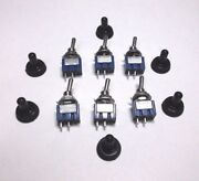6 Bbt Marine Grade On/off 12 V6 A Mini Toggle Switches W/ Waterproof Boots