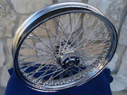 21 X 3.5 Dna 60 Spoke Single Disc Front Wheel For Harley Touringfxst 84-99