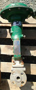Fisher Type Et Ss 1 Inch Class 300 667 Actuated Valve